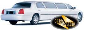 Limo Hire Stoke on Trent - Cars for Stars (Stoke on Trent) offering white, silver, black and vanilla white limos for hire